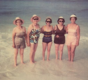 Grannies in bathing suits